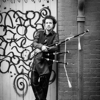 Calum Grafitti shot with pipes good b and w