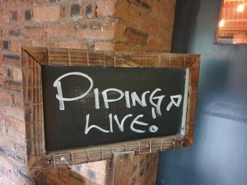 Tryst Piping Live Board